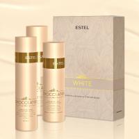 Набор ESTEL CHOCOLATIER White Chocolate Bar (белый шампунь+белый бальзам+белый спрей)