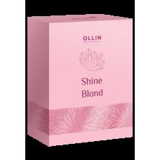 OLLIN SHINE BLOND Набор (шампунь 300мл + кондиционер 250мл + масло 50мл)